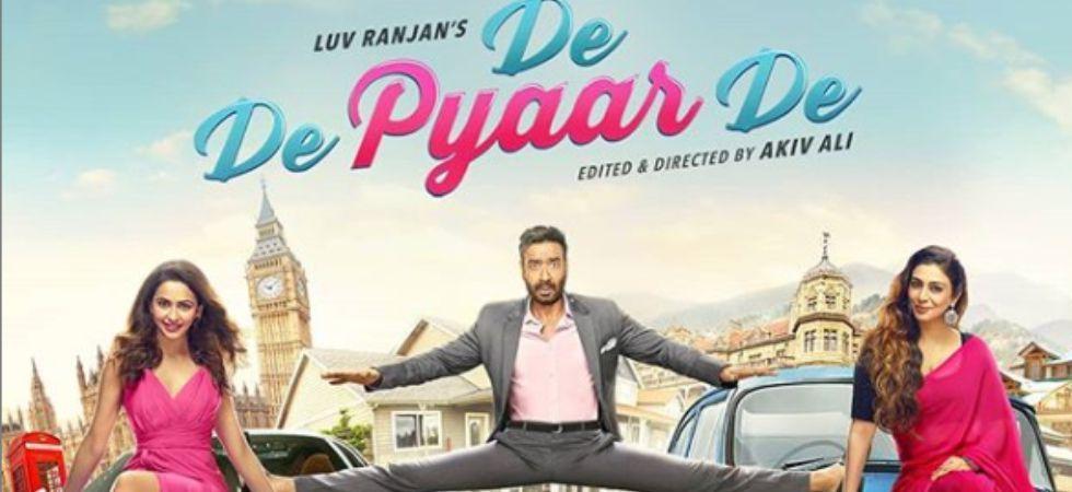 De De Pyaar De features Tabu, Ajay Devgn and Rakul Preet Singh.