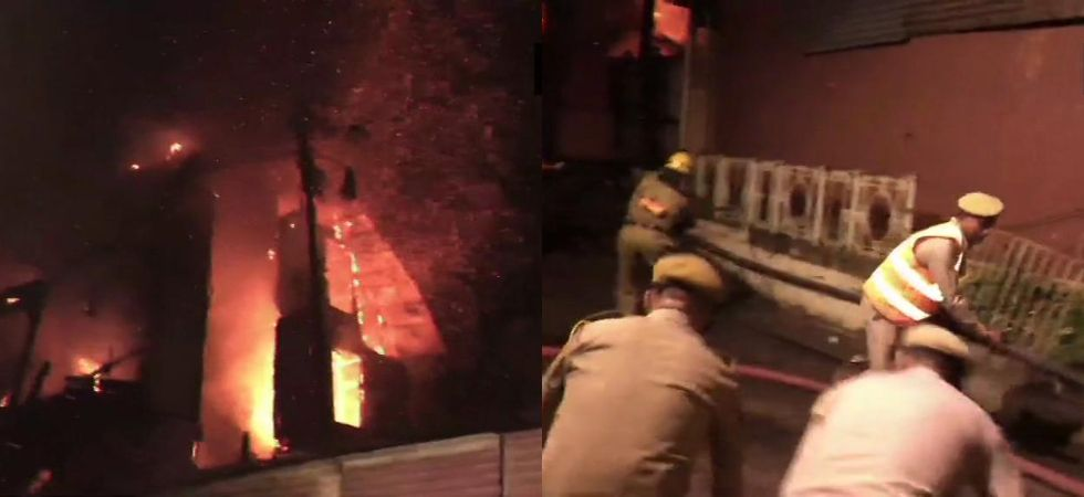 Since no employee of the hotel at the site and the police had to break open the main gate to enter the premises. (Photos: ANI)