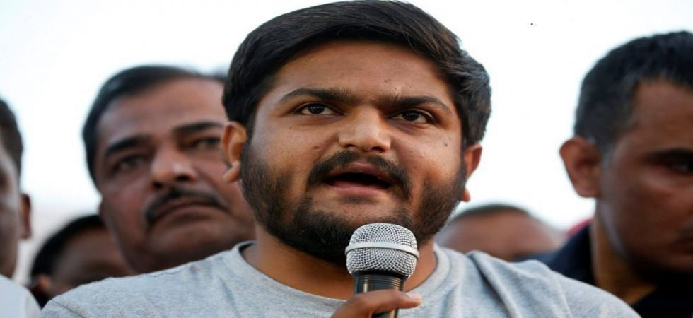 Modi running away from real issues, says Hardik Patel (file photo)