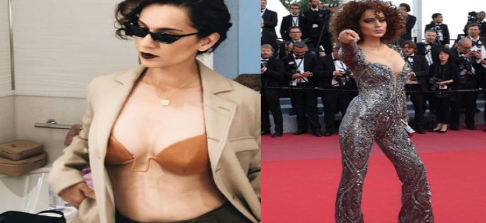 Kangana reveals her Cannes outfit; reacts to Priyanka, Deepika's MET Gala look