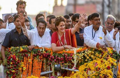 No work, only publicity campaign during Modi regime: Priyanka Gandhi in Madhya Pradesh