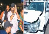 Sunny Deol's car meets with accident near Gurdaspur National Highway