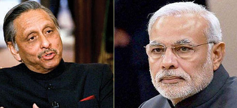 Mani Shankar Aiyar (Left), PM Modi (Right)