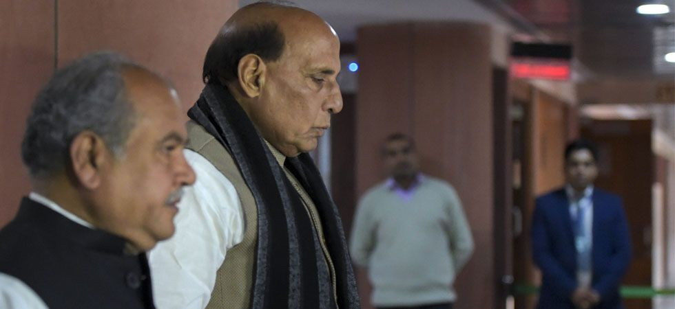 Rajnath Singh also accused Congress of diluting India's stand on terrorism emanating from Pakistan. (File Photo: PTI)