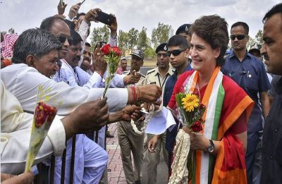 Watch Video: Teased by pro-Modi slogans, THIS is what Priyanka Gandhi told BJP supporters