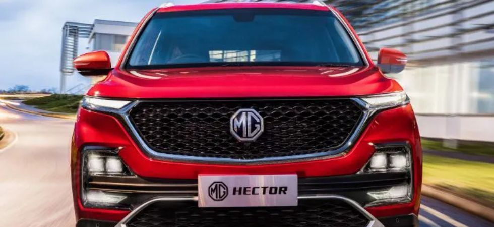 MG Motor unveils first SUV Hector, to expand portfolio to 4 by 2020 (file photo)