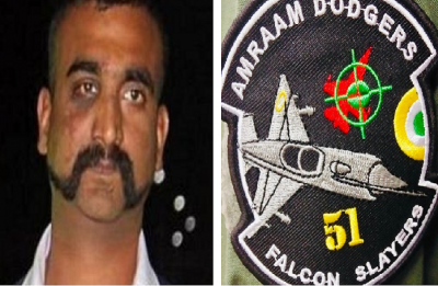 'Falcon Slayers': Abhinandan gets new patches to mark shooting down of Pak's F-16