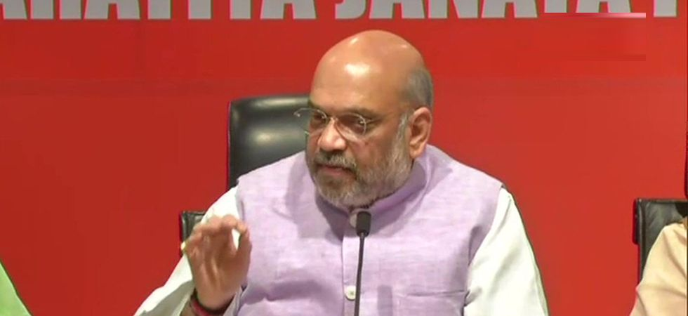 Amit Shah said that BJP workers and the people of Bengal will aggressively vote against Mamata Banerjee. (File Photo: ANI)