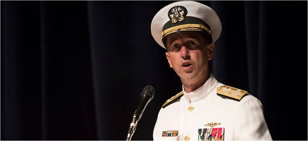 US Naval chief Admiral John Richardson (Photo Credit: Twitter)