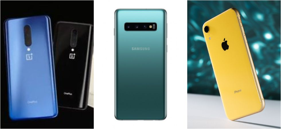 OnePlus 7 pro vs Samsung Galaxy S10 vs Apple iPhone XR (Photo Credit: Twitter)