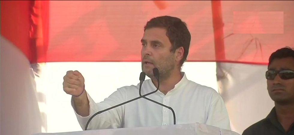 Rahul Gandhi in Patna rally