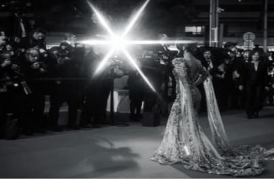 Hina Khan makes her Cannes red carpet debut in Ziad naked gown!
