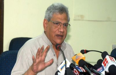 RSS-BJP systematically attacking Bengal: Yechury on desecration of Vidyasagar statue