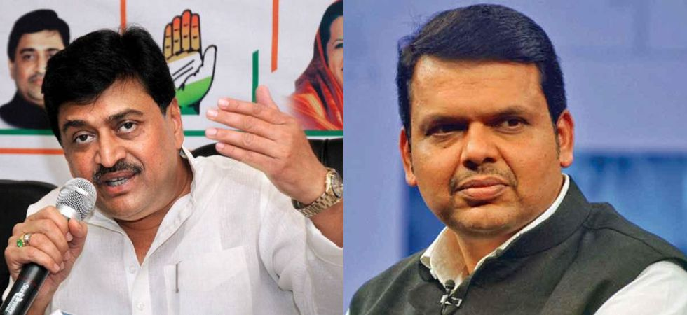 Ashok Chavan vs Devendra Fadnavis (File Photo)