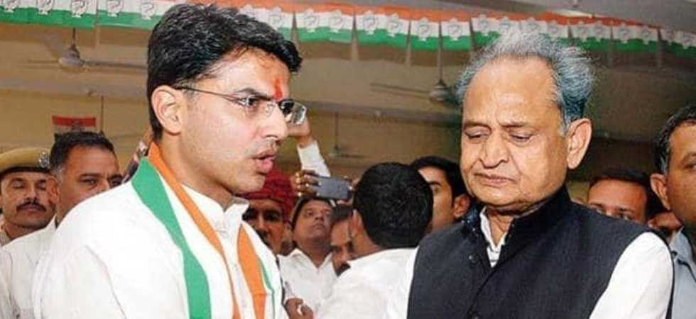 Rajasthan Chief Minister Ashok Gehlot (right) and his deputy Sachin Pilot (PTI Photo)