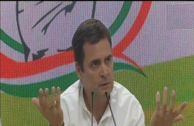 Unprecedented, PM holding press conference 4-5 days before election ends: Rahul Gandhi mocks Modi