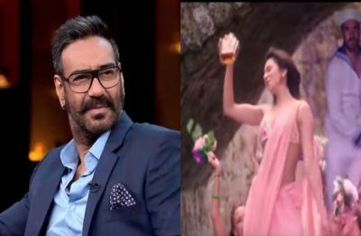 'How can they replace the bottle?' Ajay Devgn on CBFC replacing alcohol bottle with flower bouquet