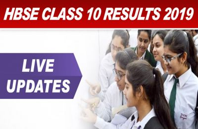 HBSE 10th Result 2019 LIVE NOW: BSEH Haryana Board ANNOUNCES class 10th Results, 57.39 pass pc