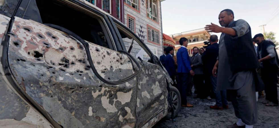 Blast in Afghanistan (Photo Credit: Twitter)