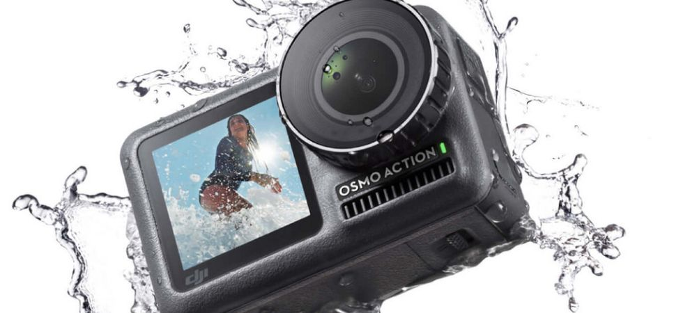 DJI Osmo Action camera (Photo Credit: Twitter)