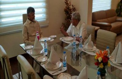 Chandrababu Naidu continues efforts to consolidate Opposition, meets Left's Sitaram Yechuri