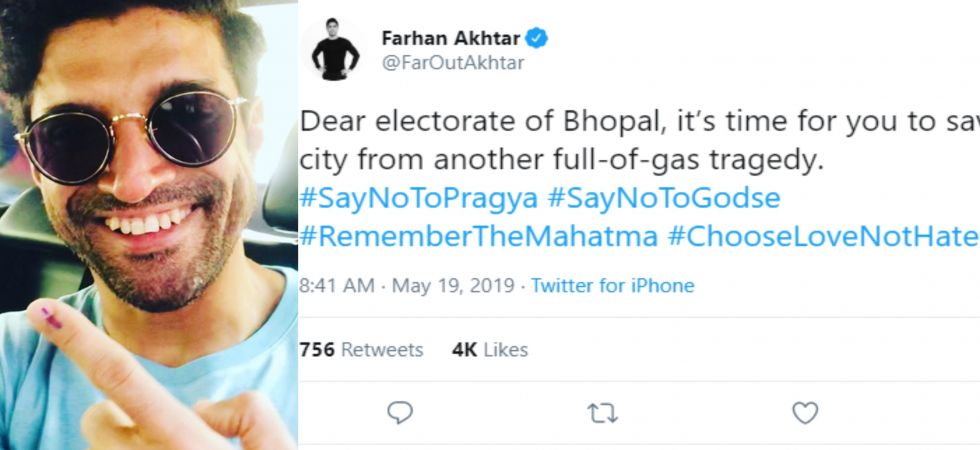 Farhan asks Bhopal electorate to #ChooseLoveNotHate 7 days after polls