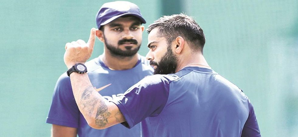 Kohli and Pant recently starred in an advertisement for a company to promote face care products. (File Photo)
