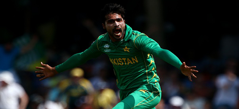 Mohammad Amir will play his first 50-over World Cup (Image Credit: Twitter)