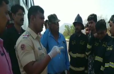 2 dead, 20 injured after head-on collision of buses on Mumbai-Pune highway