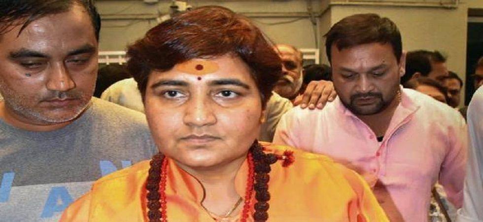 Bhopal Lok Sabha seat candidate Sadhvi Pragya Singh Thakur. (PTI/file)