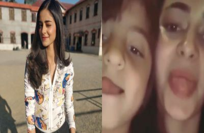 Watch: Ananya Panday's goofy video with Shah Rukh Khan's son AbRam is just unmissable!