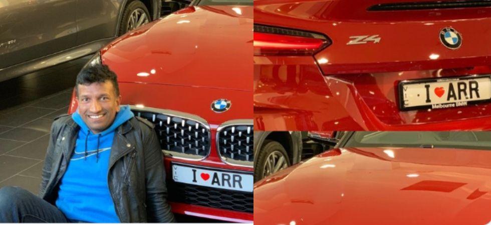 AR Rahman fan dedicates new car to his icon in a special way; gets heartfelt reply