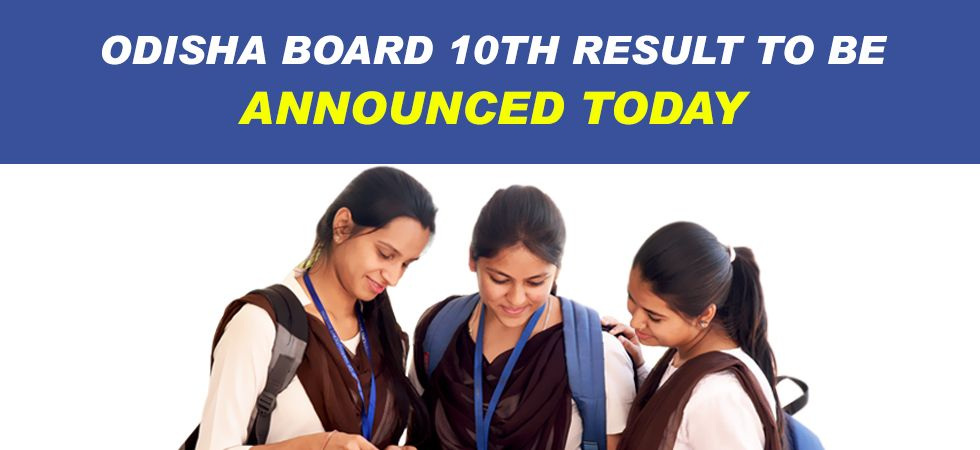 BSE Odisha Matric Result 2019.