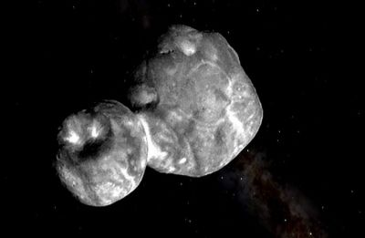 NASA finds unique mixture of methanol, water ice, organic molecules on Ultima Thule