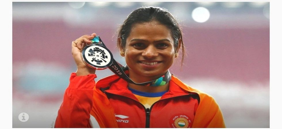 My own sister is black mailing me and asked for Rs 25 lakh, says Dutee Chand (Image Credit: Twitter)