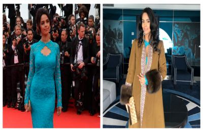 Mallika Sherawat's 2019 Cannes dress looks the 'same' as the one she wore in 2014, VIEW pics