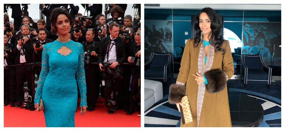 Mallika Sherawat's Cannes looks (Photo: Instagram)