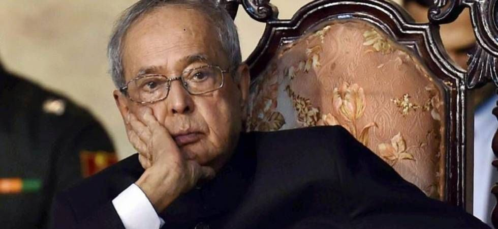 Onus on ensuring institutional integrity lies with the EC: Pranab Mukherjee on 'unsecure' movement of EVMs
