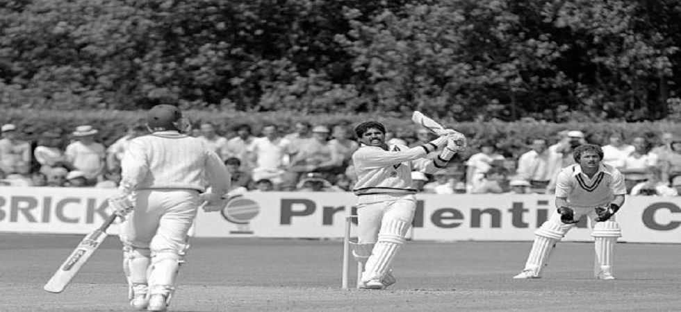 Kapil Dev's historic all-round contributions helped India announce their arrival on the big stage in cricket by winning the 1983 ICC Cricket World Cup title. (Image credit: Twitter)