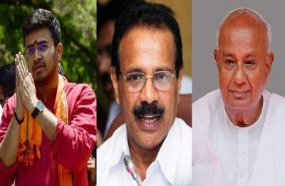 Lok Sabha Election Results 2019: From HD Deve Gowda to Tejasvi Surya, here are key contestants in Karnataka