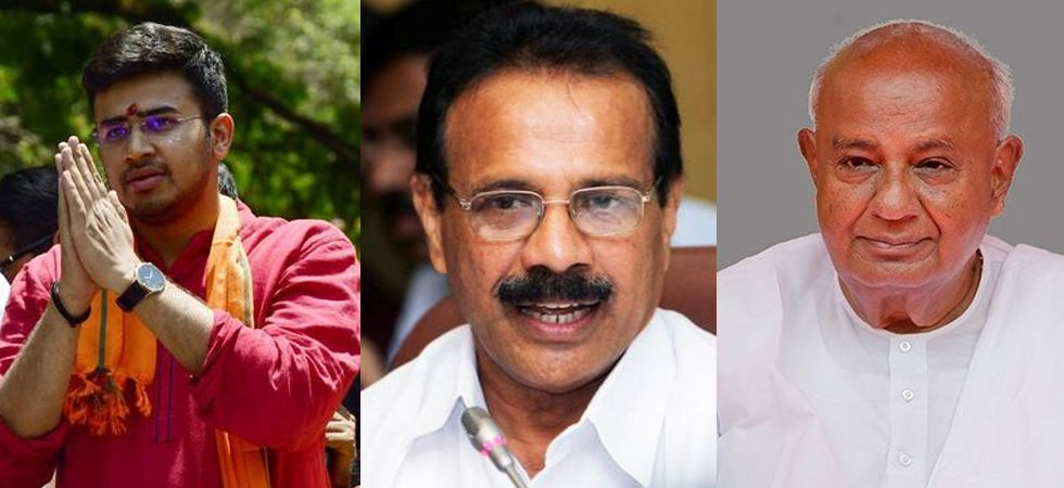 Tejasvi Surya, Sadananda Gowda, H D Deve Gowda are some of the key contestants whose fate will be sealed on May 23