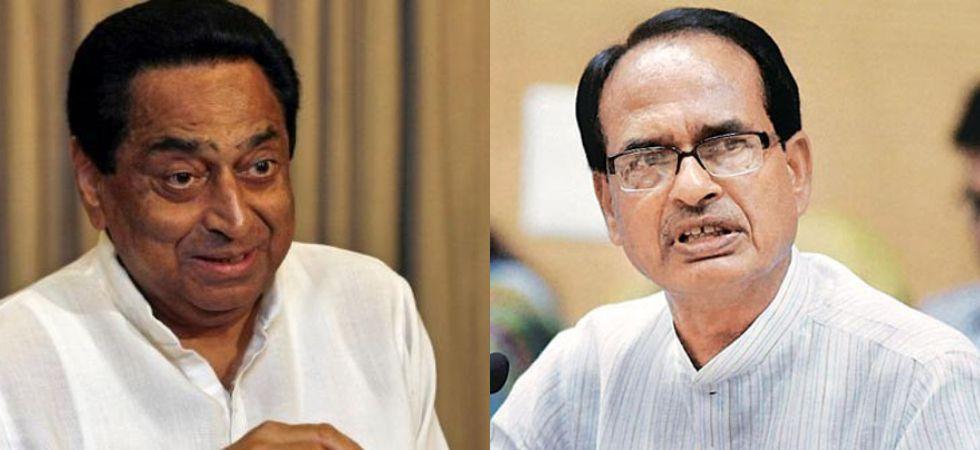 Kamal Nath (Left), Shivraj Singh Chouhan (Right)