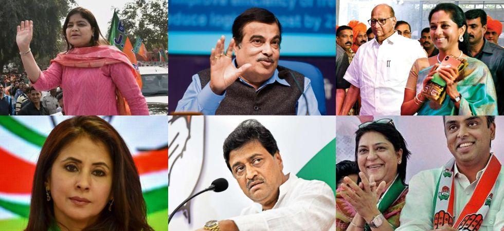 Lok Sabha Election 2019: Maharashtra key candidates (File Photo)