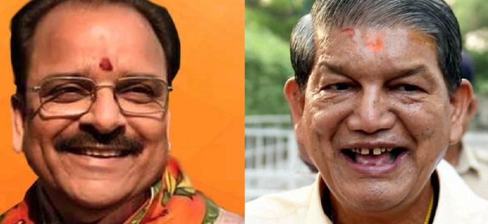 Ajay Bhatt (BJP) vs Harish Rawat (Congress)