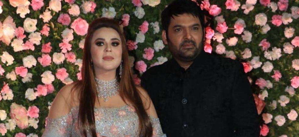 Kapil Sharma and Ginni Chatrath.
