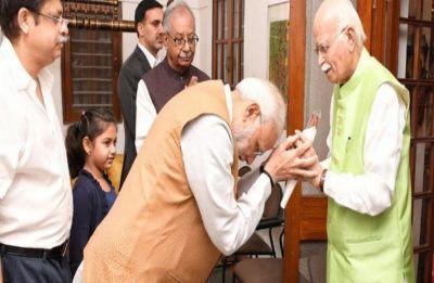 Lok Sabha Election Results 2019: L K Advani congratulates PM Modi for steering BJP towards unprecedented victory