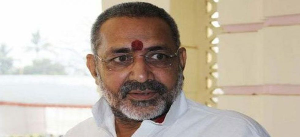 Giriraj Singh got 6.88 lakh votes out of a total of 12.17 lakhs polled on April 29. (File Photo)