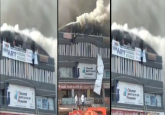 VIDEO | Gujarat: 18 students killed as massive fire breaks out at Surat coaching centre