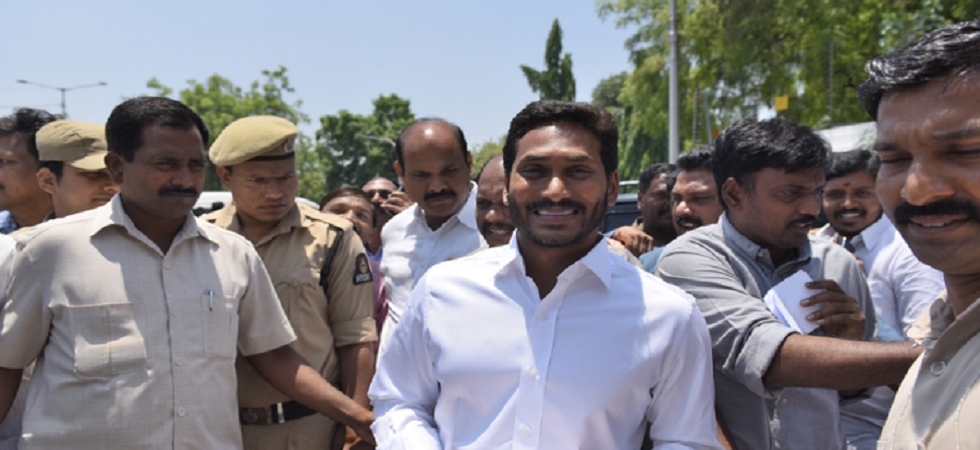 Jagan Mohan Reddy's YSR Congress Party routed the Telugu Desam Party in both the Lok Sabha Elections and in the Andhra Pradesh Assembly Elections. (Image credit: Twitter)