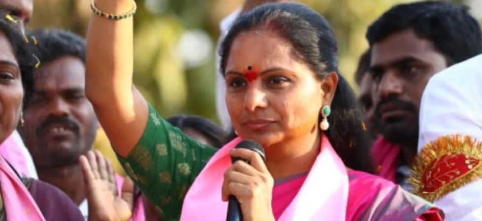 Kavitha was defeated by Arvind, son of TRS Rajya Sabha MP D Srinivas and a new entrant to politics. (File photo)